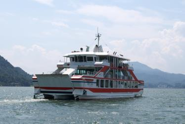 Exterior of Miyajima Ferry