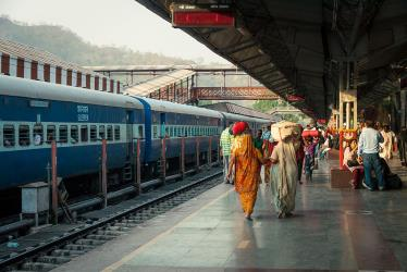 Train at Haridwar Junction