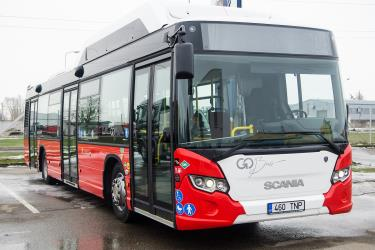 Front view of Urban Bus in Tartu