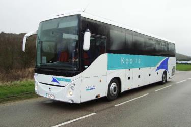 53 seater grand touring bus