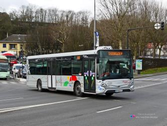 Transdev bus in Meaux