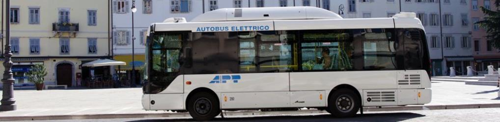 Electric urban bus