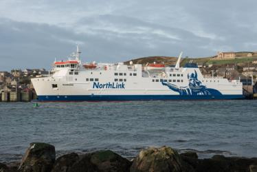A NorthLink Ferry