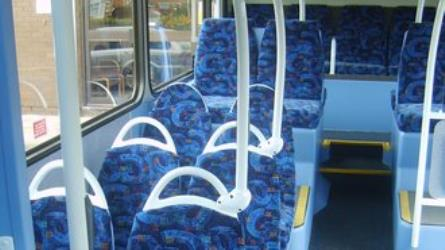 Interior of Easy Access Bus