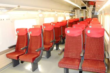 Second Class carriage interior