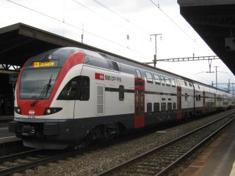The double-deck regional train RABe 511