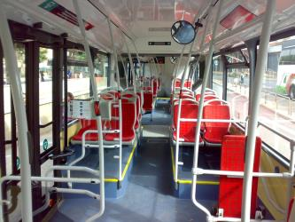 TMB Bus Interior