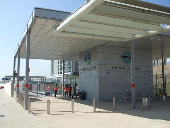 Stratford International DLR forecourt