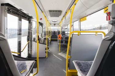 Swiss PostAuto Bus Interior