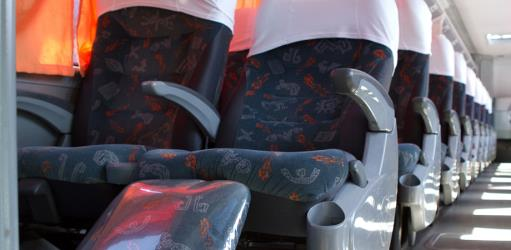 Clássico bus interior