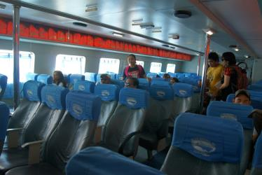 Interiror of Weesam Express