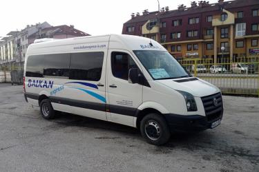 Balkan Express mini bus