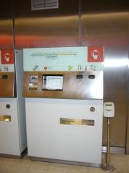 Metro Bilbao Vending Machine