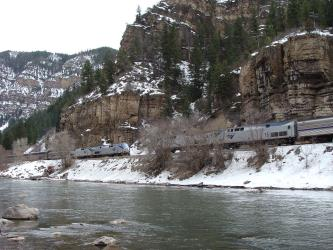 Glenwood Canyon Colorado