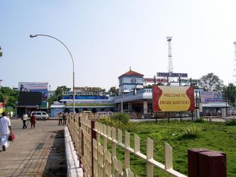 Erode Junction Railway Station