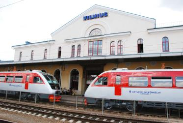 Trains in Vilnius