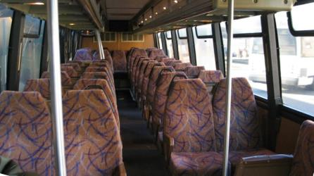 Interior - NJ Transit Bus