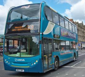 Enviro 400 double decker bus