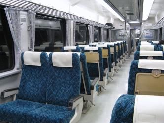JR Kamaishi Interior