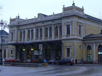 Exterior of Trieste Centrale